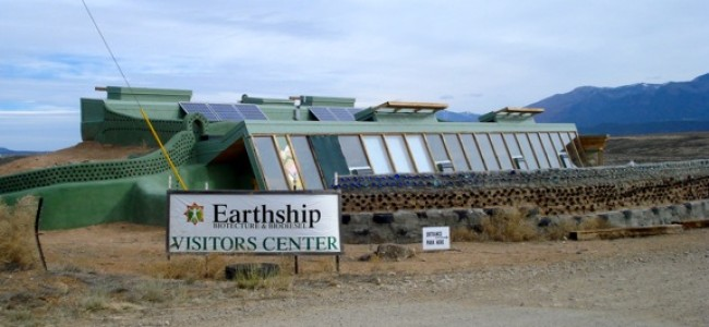 Earthships – Passive Solar Homes Using Recycled Materials