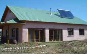 A Passive Solar Straw Bale Home