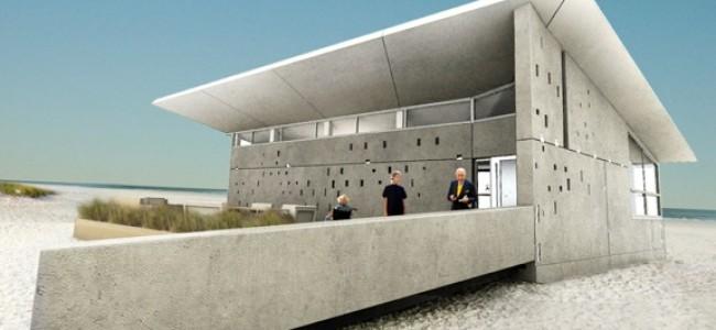"Team New Jersey's Concrete Passive Solar ""eNJoy"" Home"