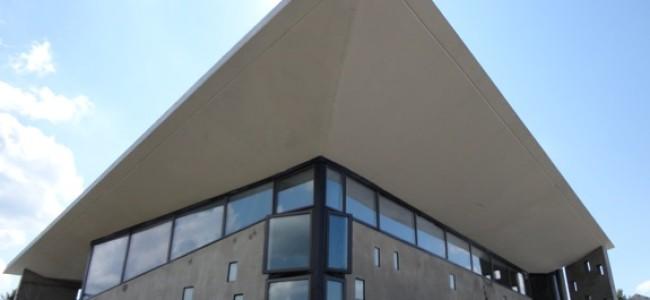 A Modernist, Sleek, Concrete Active & Passive Solar Home