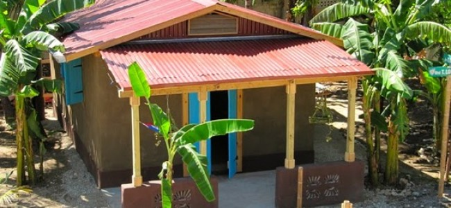 Using Strawbale, Adobe and Recycled Rubble to Rebuild in Haiti
