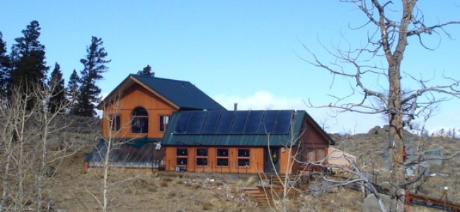 An Optimally Efficient Off-Grid Passive and Active Solar Home