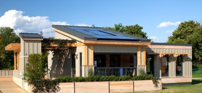A Modular Solar Envelope House