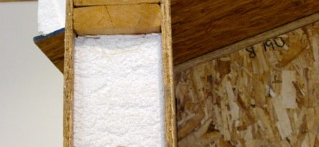How Styrofoam is Used in Building