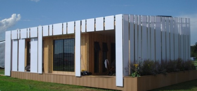 The Solar Decathlon Home from Ohio State