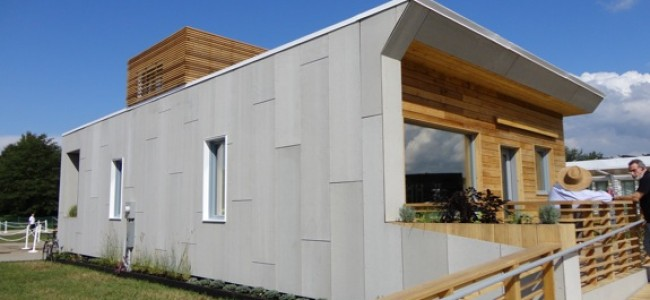 A Civic-Minded and Efficient Solar House