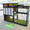 Two-level Passive Solar Dog House