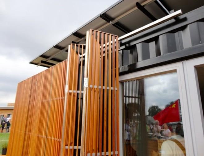 Outside window screen green passive solar magazine for Passive solar modular homes