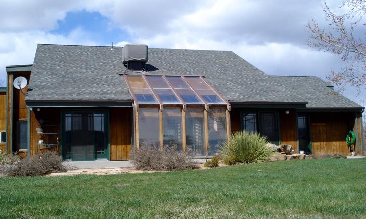 Passive Solar Sun Room
