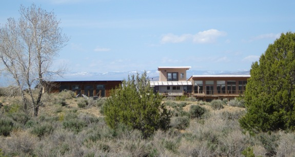 Passive solar off grid - modified earthship, shed and home