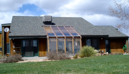 Passive Solar Sun Room Green Passive Solar Magazine