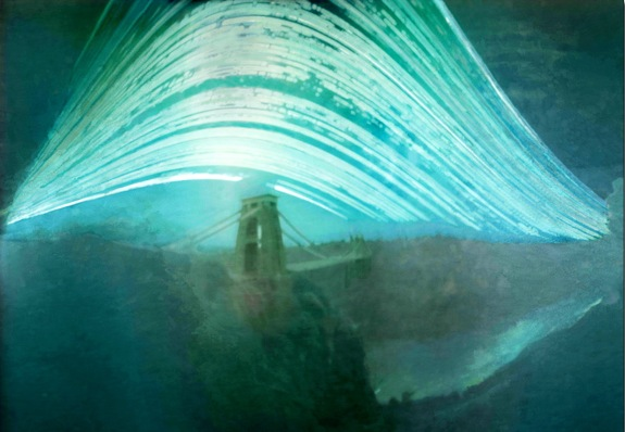Justin Quinnell's pinhole time lapse photography of sun travel