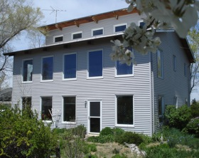 Contemporary Passive Solar House