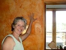 Trombe Walls can radiate heat