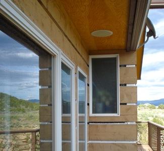 Trombe Wall Roof Overhang
