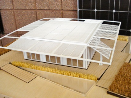Florida Perfordance Solar Decathlon House, Picture of the model taken at NREL