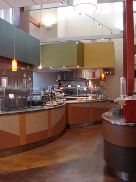 Rare Air Cafe - Modern Cafeteria Style for Students at Western State