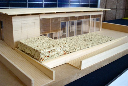 Sustainable model house