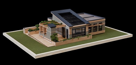 Old Dominion and Hamption University's latest 2011 Solar Decathlon Model Called Unit 6 Unplugged