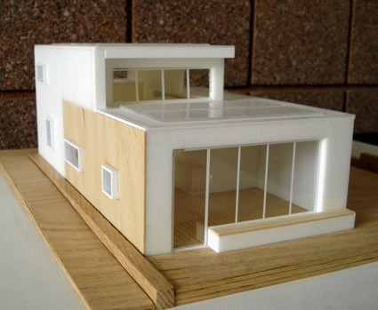 Passive solar house school project