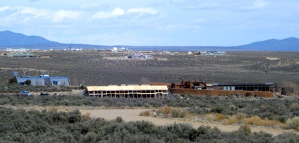 Three different Earthship Houses