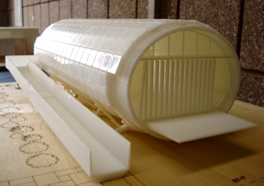 Early tube-like model of the home