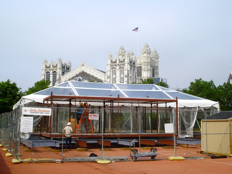The Solar Roof Pod