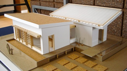Model of the Watershed House