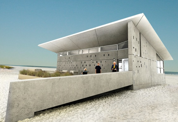 Nice Team New Jersey Is Using Precast Concrete With Passive Solar Design ...