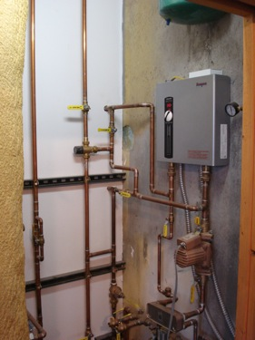 On Demand Flash Water Heater