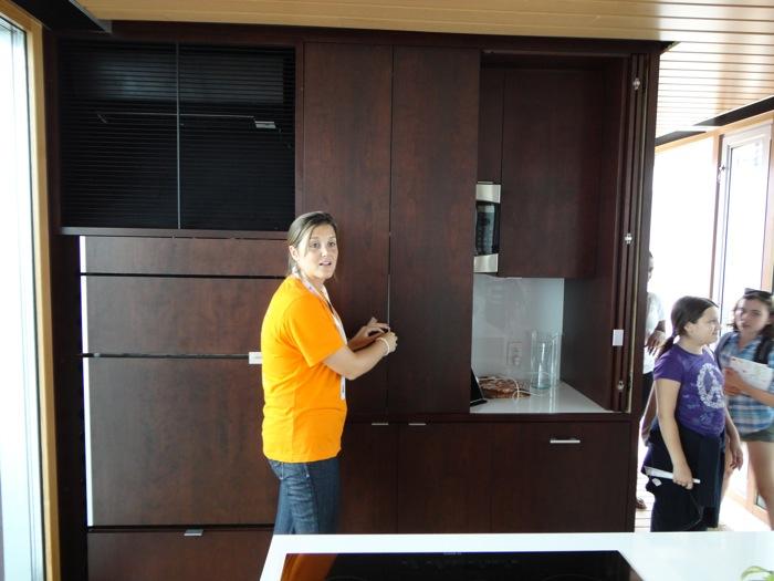 Hide-away-kitchen