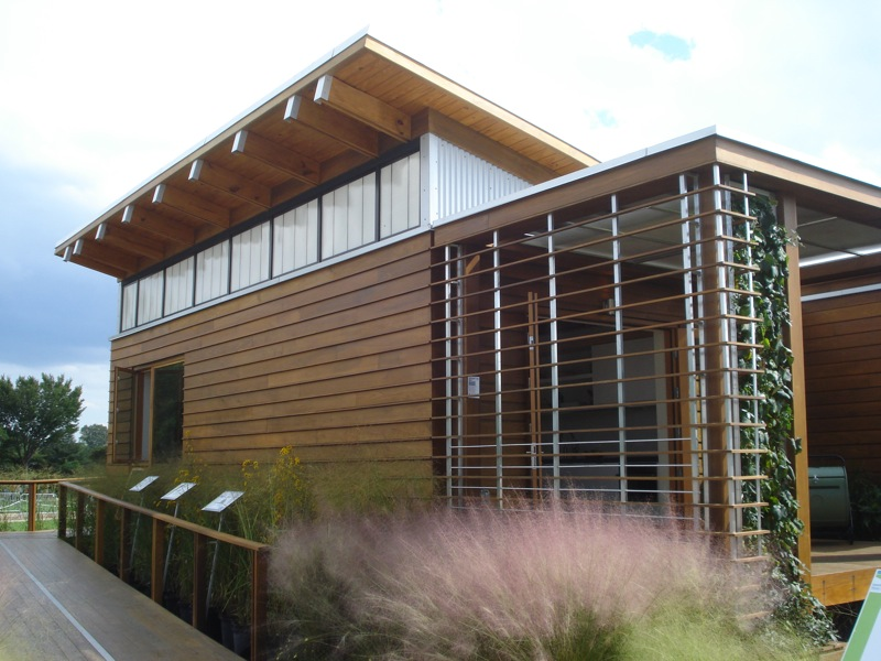 Shoji Angled Roof