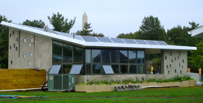 Solar Decathlon Home from New Jersey