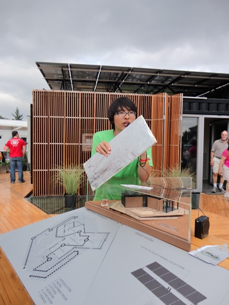 Team China Container House