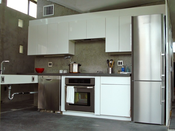 Stainless steel kitchen