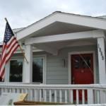 American Flag Suburbia