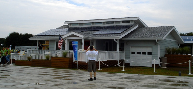 A Home with Solar Panels, the INHome from Purdue