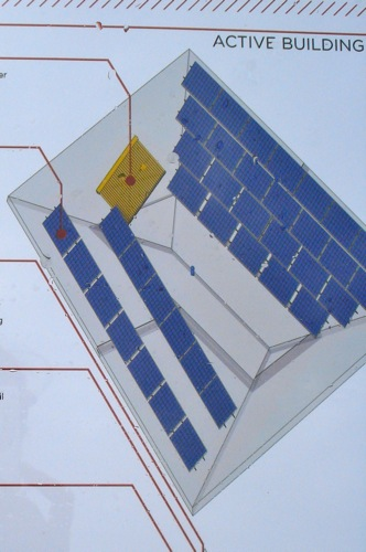 Diagram Solar Panels on Roof