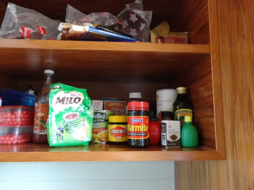 Kiwi Kitchen Cabinet