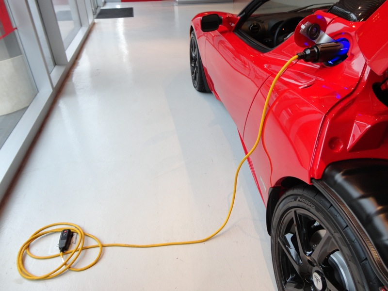 Roadster charging