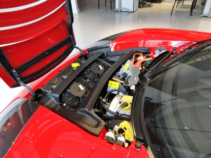 The Tesla Roadster Engine