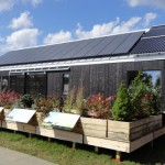 Middlebury built a home called Self-Reliance for the Solar Decathlon.