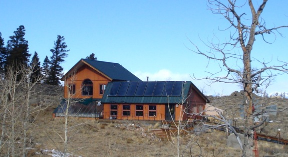 An efficient off grid solar electricity system green passive solar thermal panels sciox Images