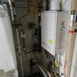 backup flash hot water heater