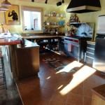 Passive solar kitchen