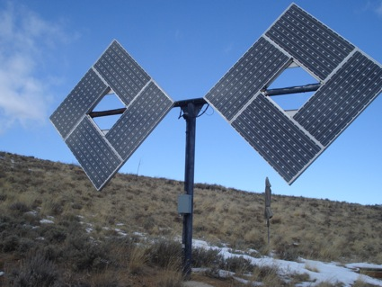 An Efficient Off Grid Solar Electricity System Green