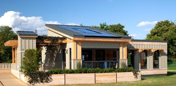 A modular solar envelope house green passive solar magazine for Passive solar modular homes