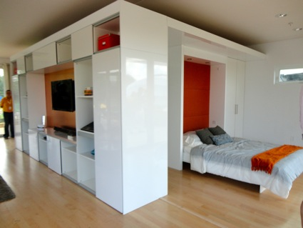 Bedroom with Murphy bed