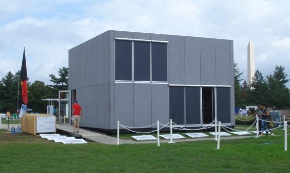 The 2011 Solar Decathlon E-Cube