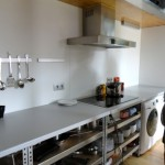 A compact kitchen